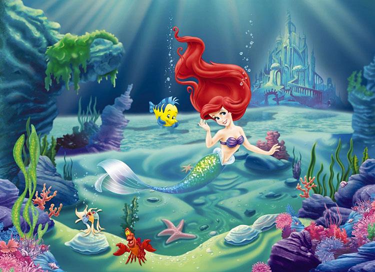 Carta da parati delle principesse Disney n.08