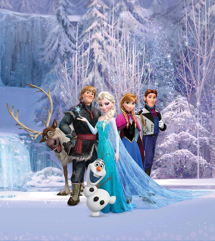 Carta da parati delle principesse Disney n.09