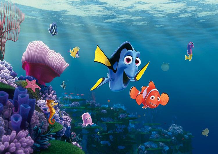 Carta da parati Disney di Nemo n.01