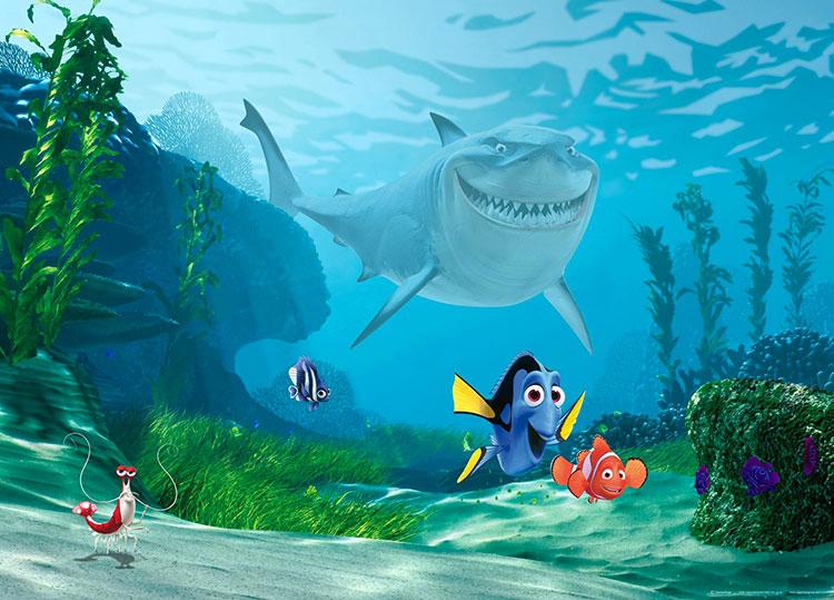 Carta da parati Disney di Nemo n.03