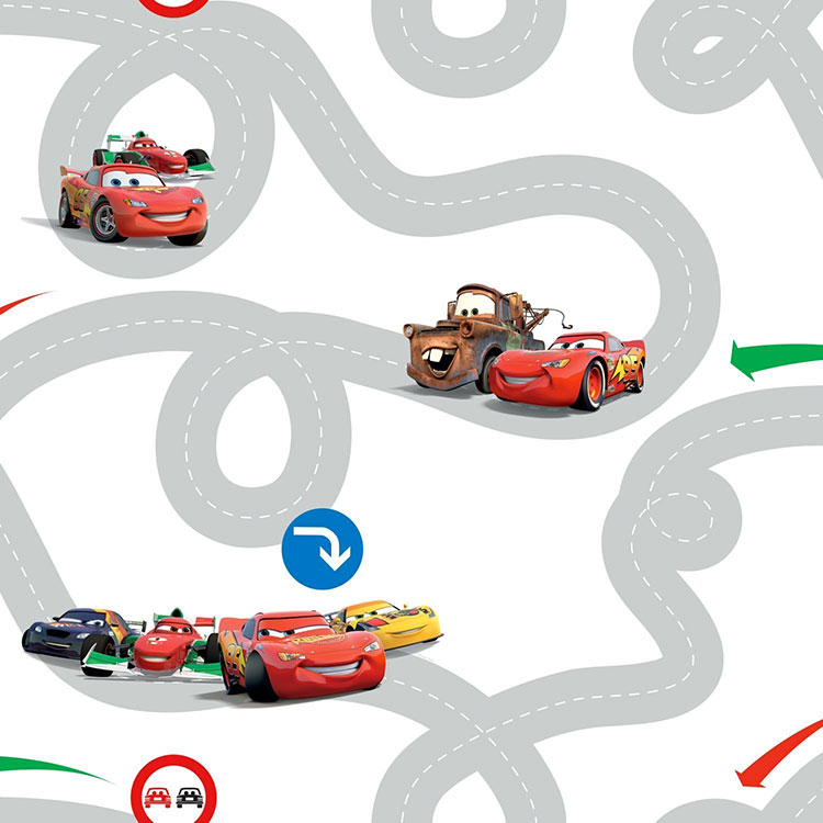 Carta da parati Disney di Cars n.04