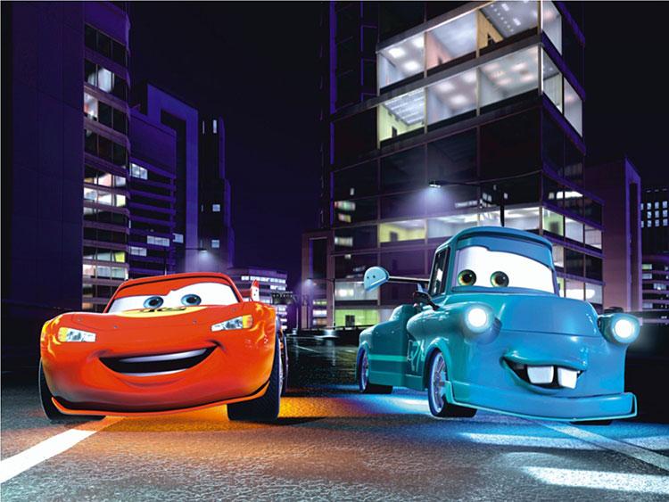 Carta da parati Disney di Cars n.05