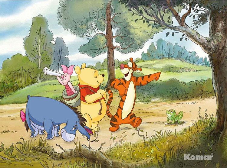 Carta da parati Disney di Winnie The Pooh n.02