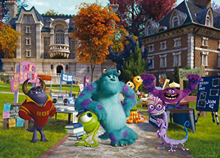 Carta da parati Disney di Monster n.03