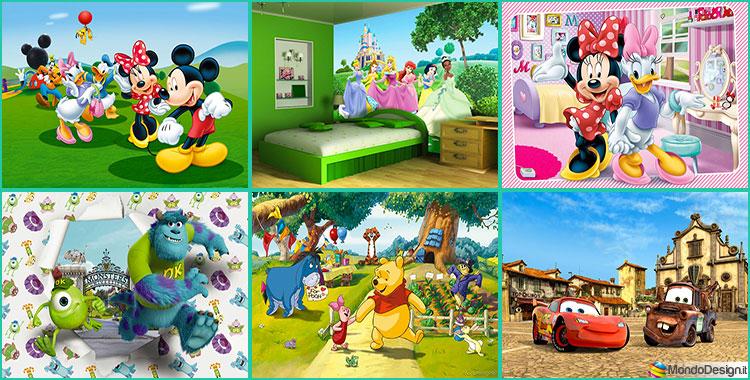 35 Tipi di Carta da Parati Disney per Bambini