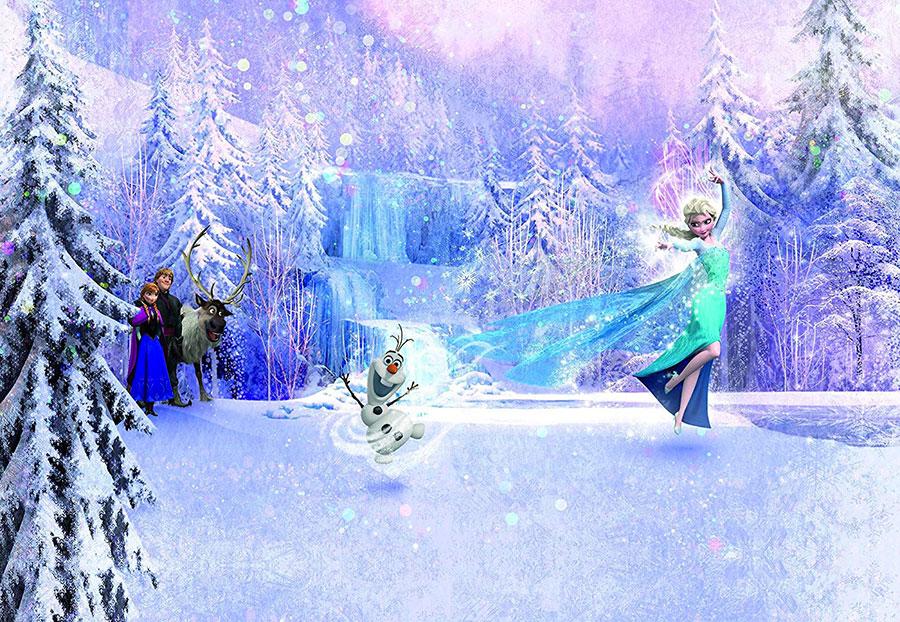 Modello di carta da parati di Frozen 2