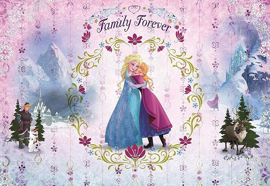 Modello di carta da parati di Frozen 4