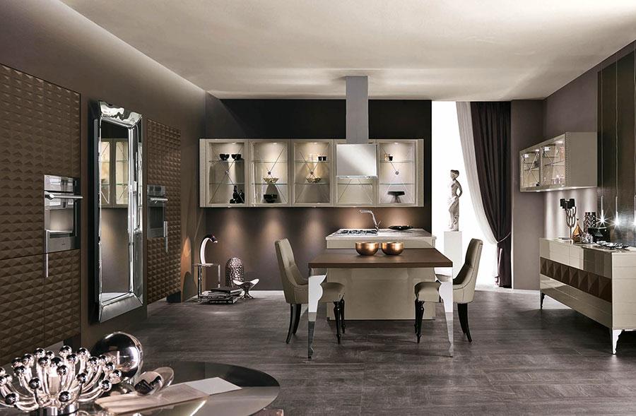 Modello di cucina provenzale in legno n.10