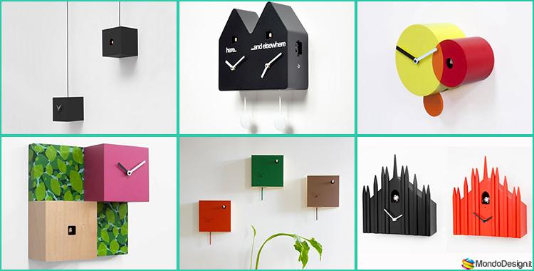 50 Orologi a Cucù dal Design Moderno ed Originale
