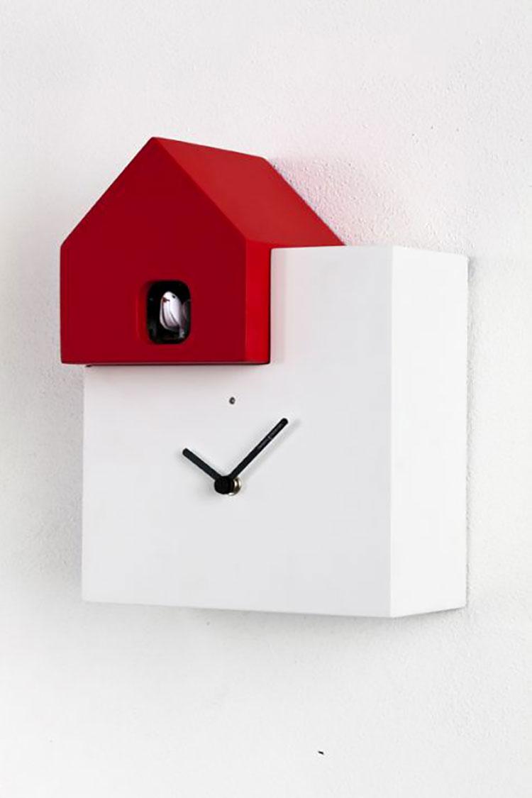 Orologio a cucù dal design moderno n.17
