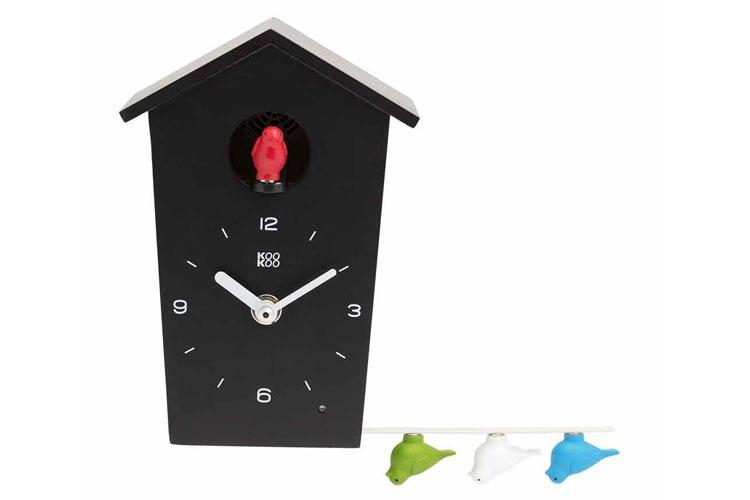 Orologio a cucù dal design moderno di Kookoo n.2
