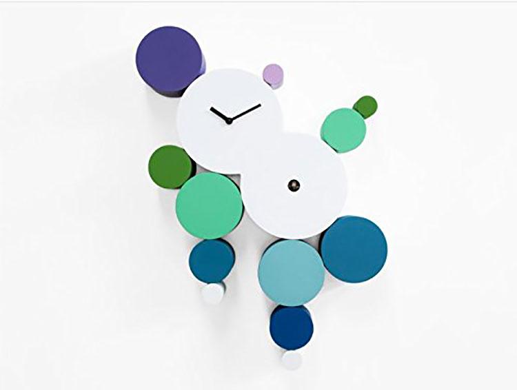 Orologio a cucù dal design moderno di Manuel Barbieri n.1