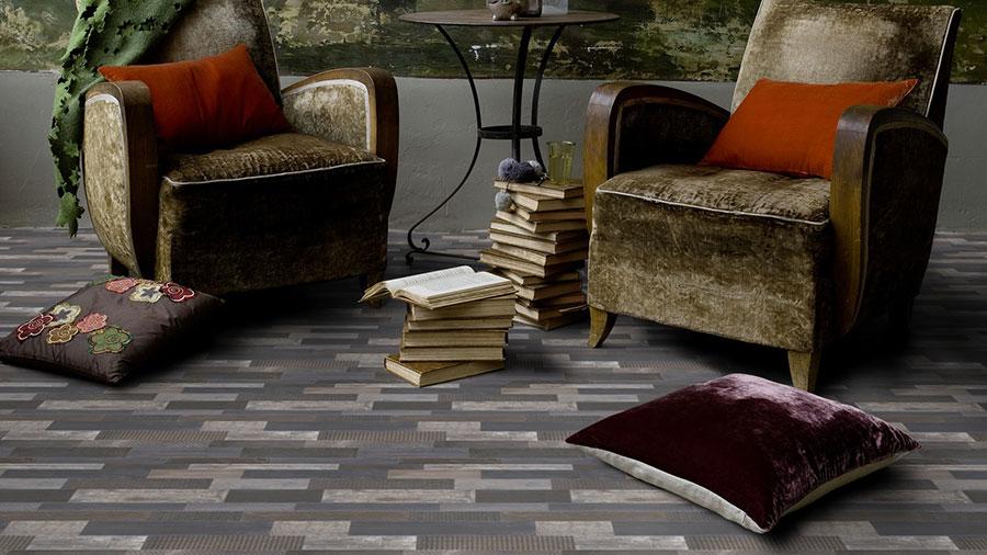 Tipo di pavimento in PVC effetto legno n.08