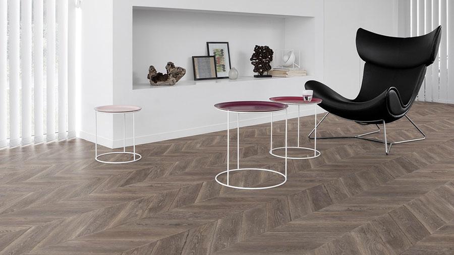 Tipo di pavimento in PVC effetto legno n.09