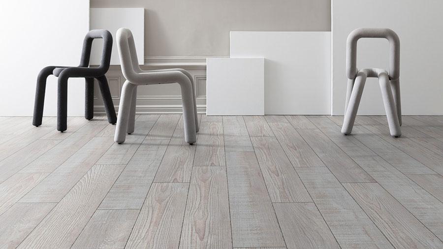 Tipo di pavimento in PVC effetto legno n.10
