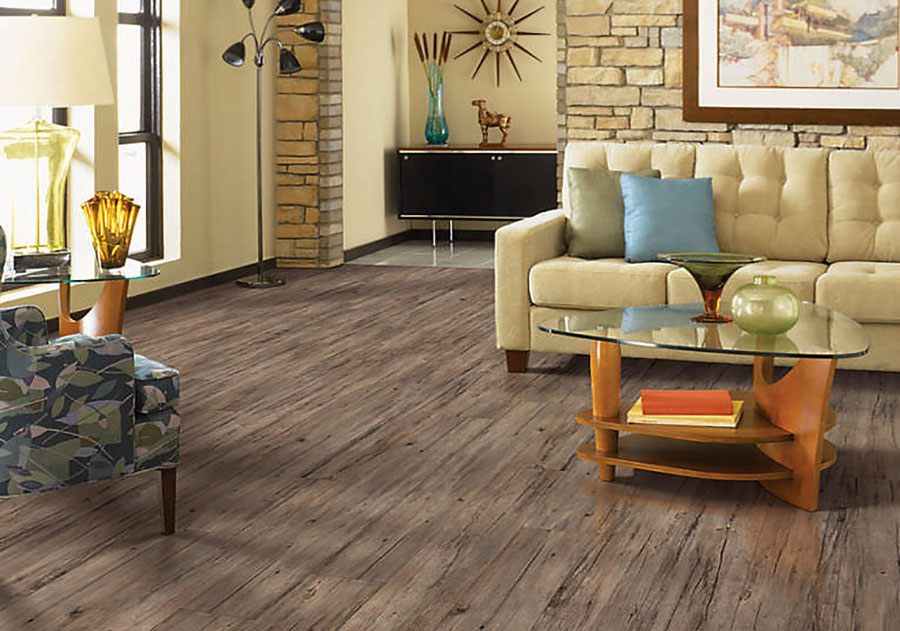 Tipo di pavimento in PVC effetto legno n.11
