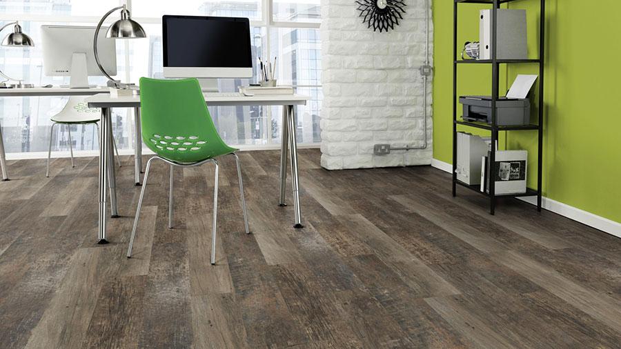 Tipo di pavimento in PVC effetto legno n.19