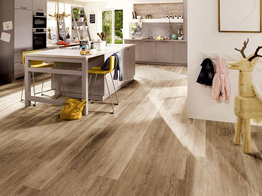 Tipo di pavimento in PVC effetto legno n.28