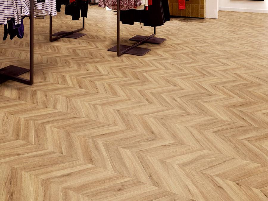 Tipo di pavimento in PVC effetto legno n.31