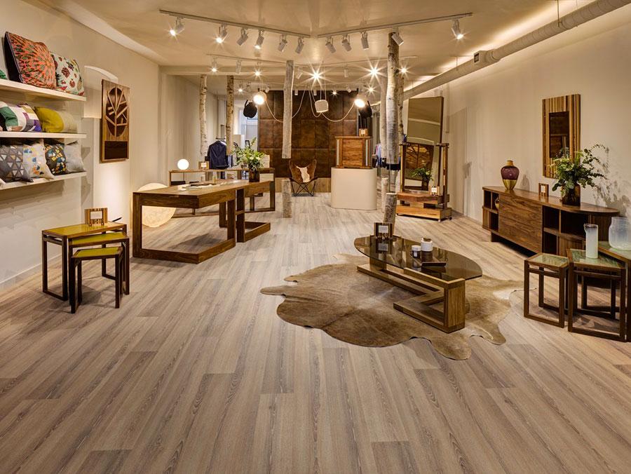 Tipo di pavimento in PVC effetto legno n.35