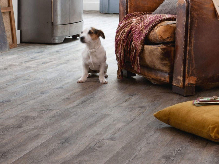 Tipo di pavimento in PVC effetto legno n.38