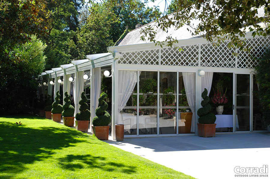 Pergolato in legno per giardini o terrazzi n.05