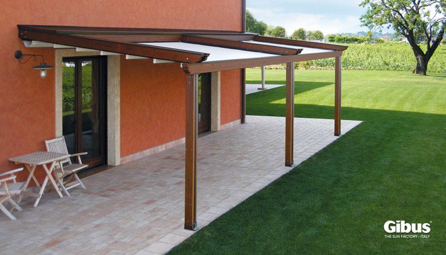 Pergolato in legno per giardini o terrazzi n.11