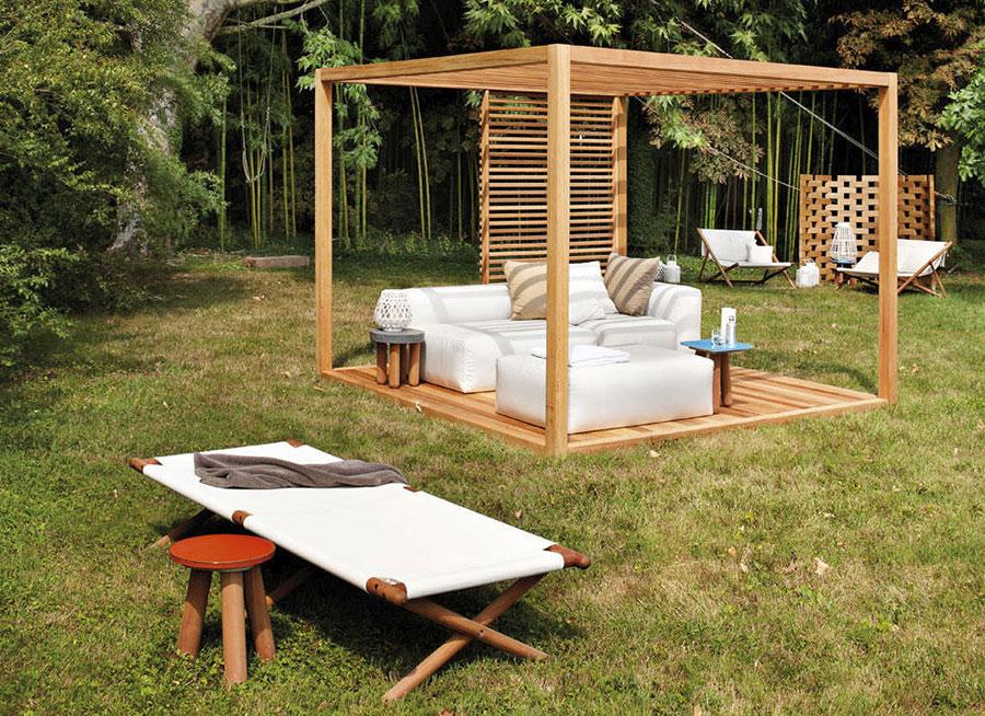 Pergolato in legno per giardini o terrazzi n.20