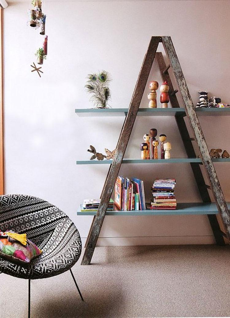 Come creare librerie riciclando vecchie scale n.01