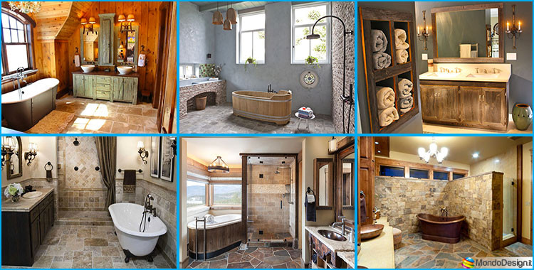 Bagno country chic 20 bellissime idee di arredo for Country house arredamento