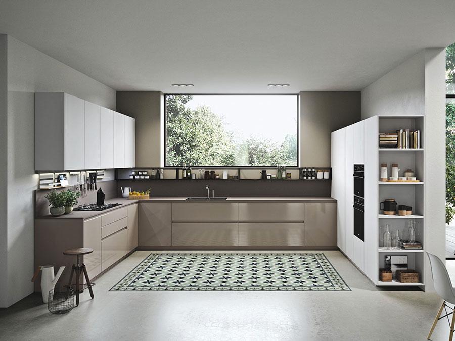 Modello di cucina ad angolo di Alta Cucina n.02