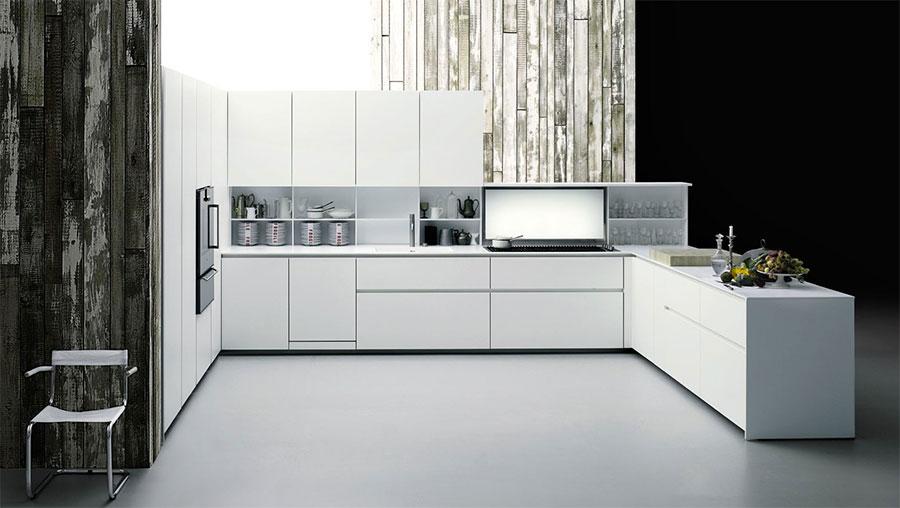Modello di cucina ad angolo di Boffi n.01