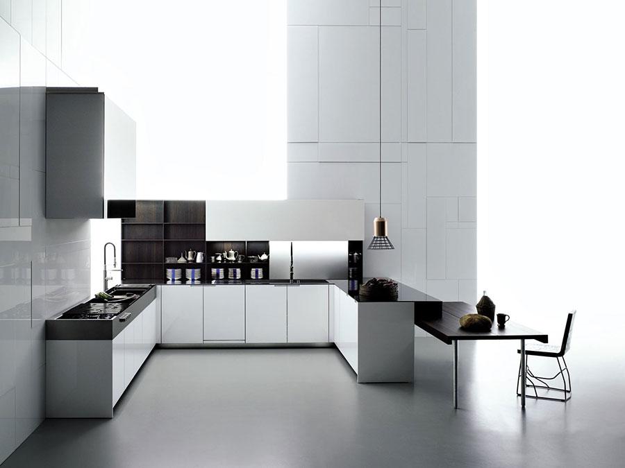 Modello di cucina ad angolo di Boffi n.02