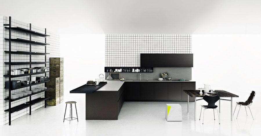 Modello di cucina ad angolo di Boffi n.03