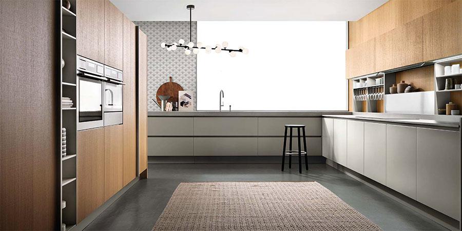 Modello di cucina ad angolo Ernestomeda n.01