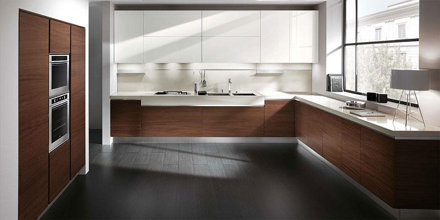 Modello di cucina ad angolo Ernestomeda n.02