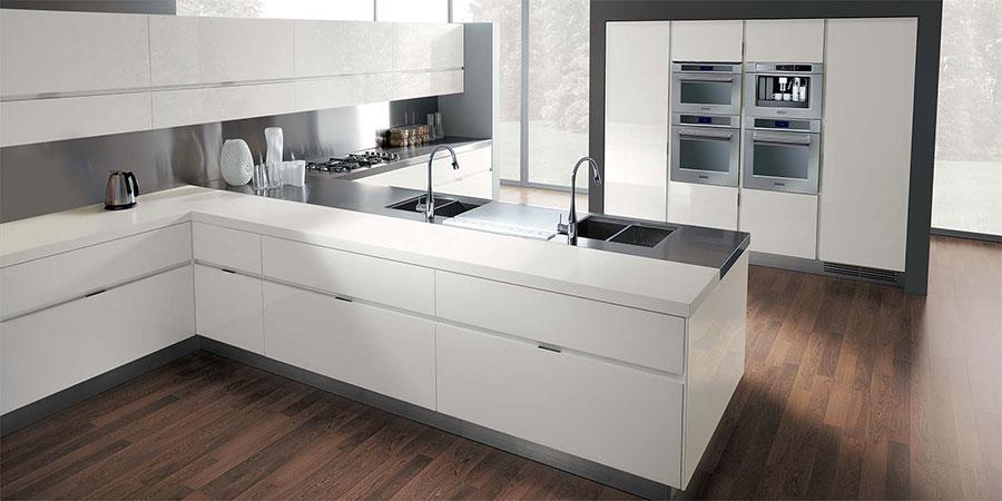 Modello di cucina ad angolo Ernestomeda n.03