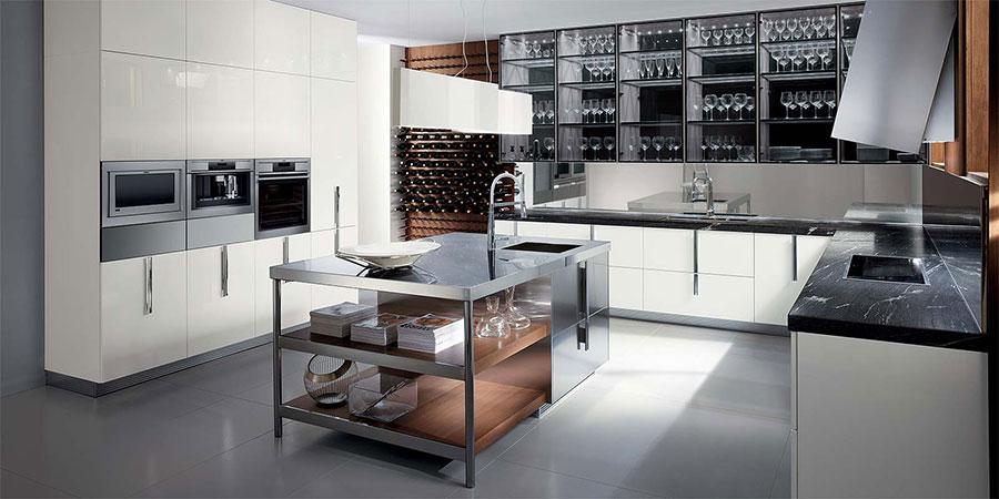 Modello di cucina ad angolo Ernestomeda n.05
