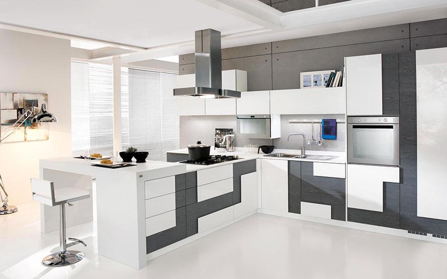 Modello di cucina ad angolo Lube n.02