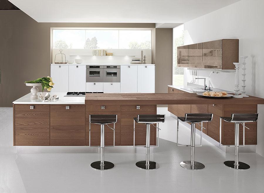 Modello di cucina ad angolo Lube n.04