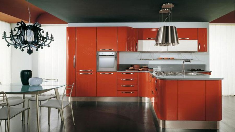 Modello di cucina ad angolo Lube n.05