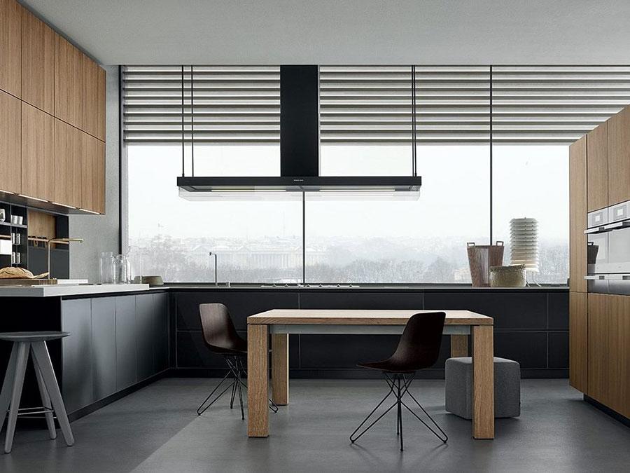 Modello di cucina ad angolo di Poliform n.01