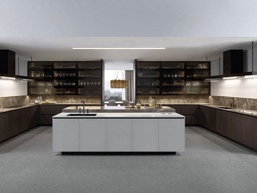 Modello di cucina ad angolo di Poliform n.02
