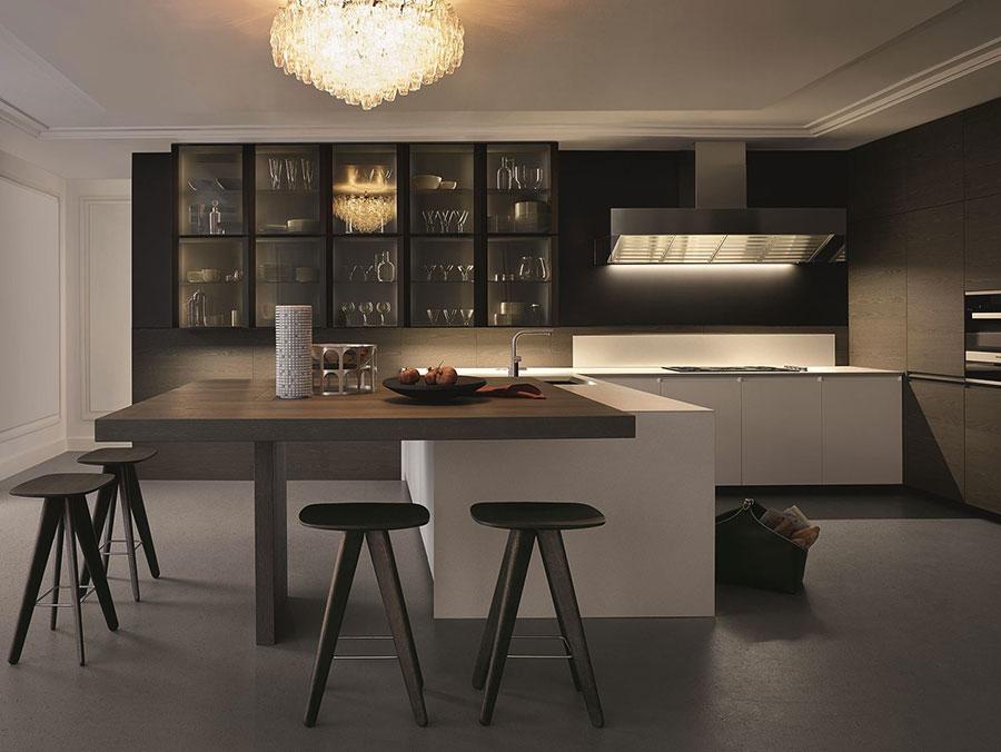 Modello di cucina ad angolo di Poliform n.03