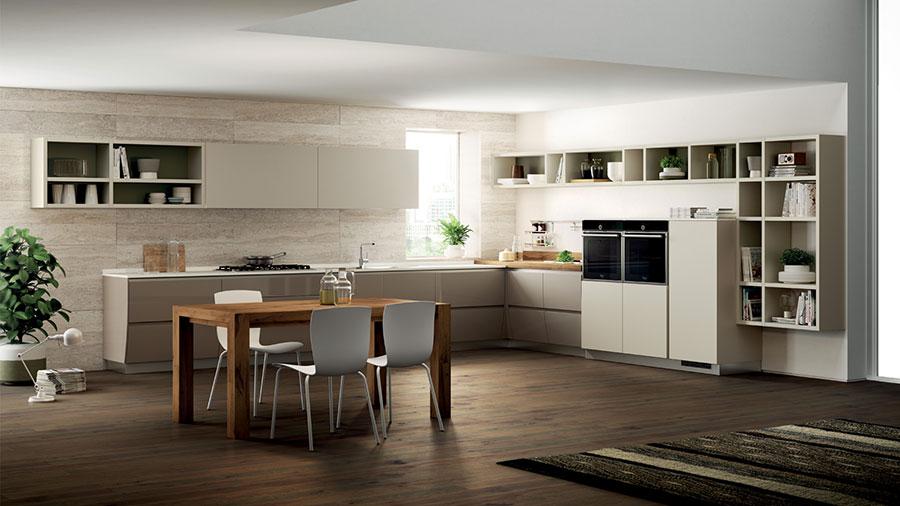 Modello di cucina ad angolo Scavolini n.03