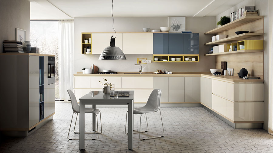 Modello di cucina ad angolo Scavolini n.06