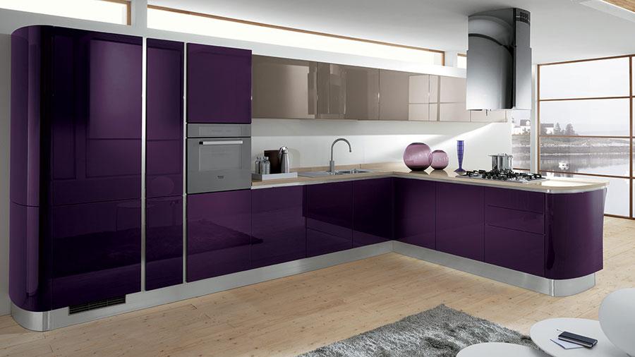 Modello di cucina ad angolo Scavolini n.07