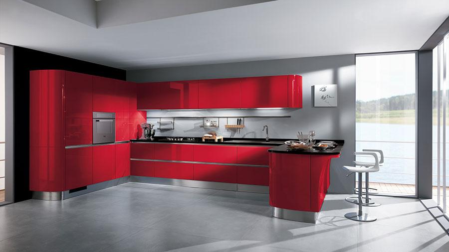 Modello di cucina ad angolo Scavolini n.10