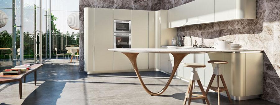 Modello di cucina ad angolo Snaidero n.01