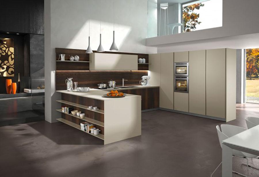 Modello di cucina ad angolo Snaidero n.02